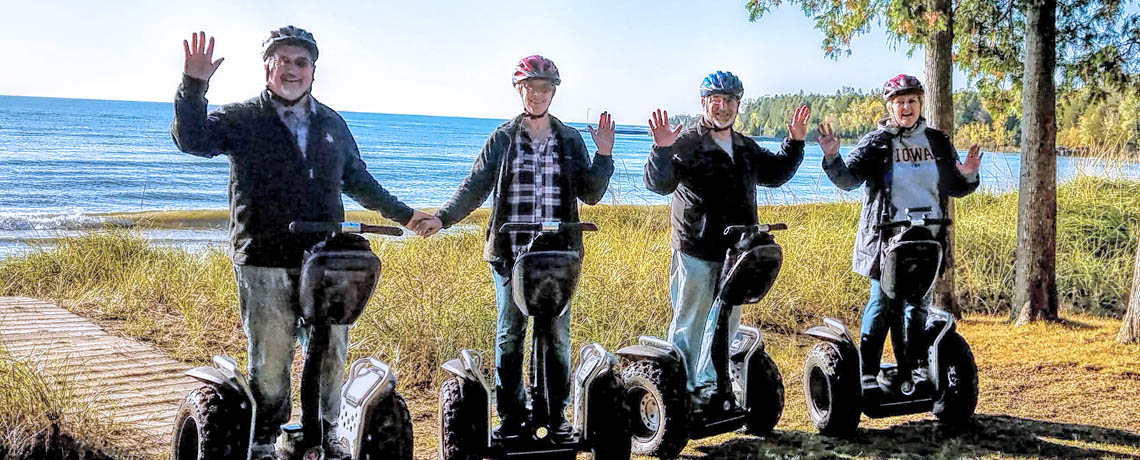 Door County Off-Road Segway Reach the Beach Tour by Seaquist Tours