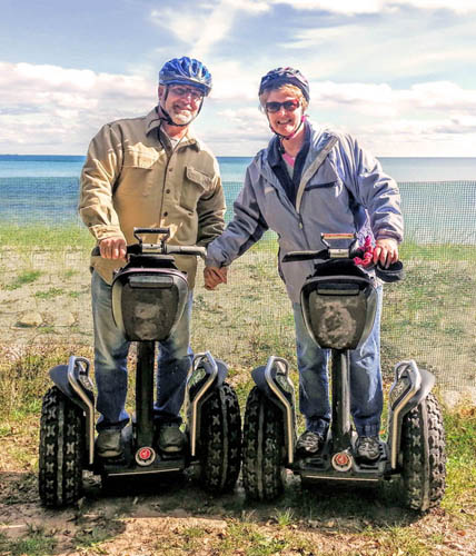 Steve Seaquist | Door County Off-Road Segway Tour Guide
