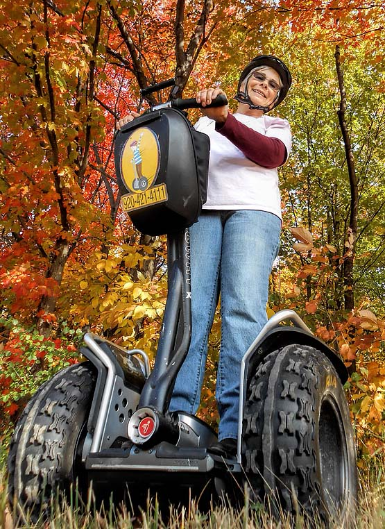 Door County Off-Road Segway Tour Big Tires by Seaquist Tours